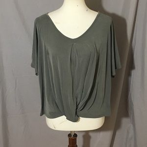 Tops - Change or Fate Green Top